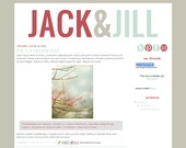 Jack and Jill - Premade Blogger Template Design