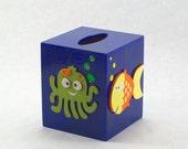 Sea Theme Tissue Box Holder