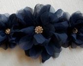 Wedding Bridal Sash, COLOR CHOICE, Floral Bridal Sash, Wedding Gown Sash, Belt, Satin Sash, Bridal Gown Belt, Satin Ribbon Sash, Dress Sash