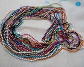 11 pcs Assorted colors(11colors) Ball Chain Necklaces - 27inch, 2.0mm
