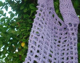 lilac market bag