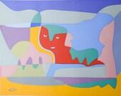 Paul Klee Silk Screen Print