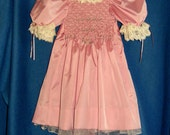 Polly Flinders beautiful vintage princess dress--3t-old French cut-SALE
