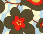 SALE Amy Butler Fabric - Lotus Collection - Morning Glory Linen - 1 yd