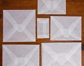 A6 Glassine Envelopes