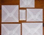 A2 Glassine Envelopes
