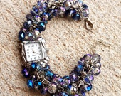 Irresistible and exceptional, Crystal Beaded Watch