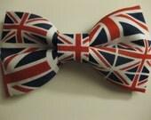 Union Jack UK British Flag Bow Tie