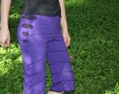 purple festivities pants