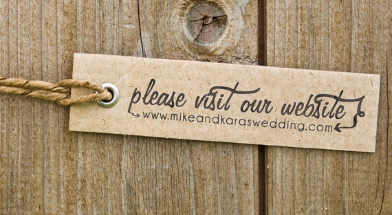 Wedding  Stamp, Self Inking, Wood Mounted, Website, Save the Date stamp, Housewarming Gift - FREE SHIPPING - Please Visit
