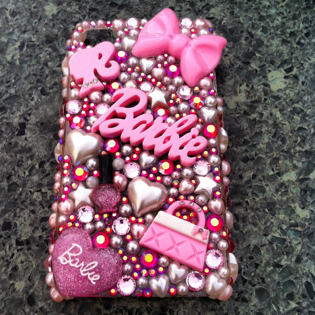 Barbie cell phone case iphone 4 4s - Telephone barbie ...