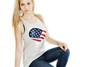 4th of July USA Love Top