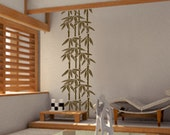 Wall Decal Vinyl Removable Home Decor Sticker - Bamboo Trees - HW022