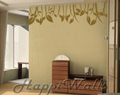 Wall Decal Vinyl Removable Home Decor Sticker - Grassy Plants - HW017