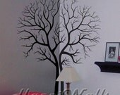 Wall Decal Vinyl Removable Home Decor Sticker - Double Tree - HW043