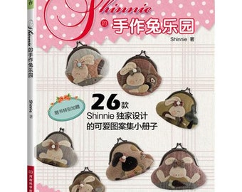 Shinnie's Rabbit's World 26 Frame Purses Quilting Craft Book (In Chinese)