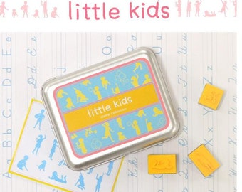 A Set of DIY Rubber Stamp -Little Kids