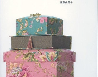 Le cartonnage the French Box Japanese Craft Book (In Chinese)