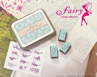 A Set of DIY Rubber Stamp -Fairy