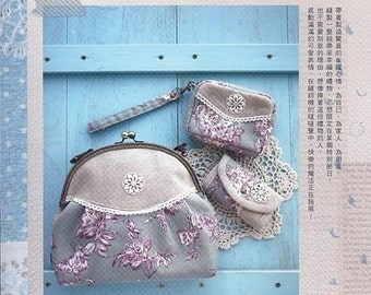 35 Beautiful Metal Frame Purse, Bags and Fabric Accessories Patterns Craft Book (In Chinese)