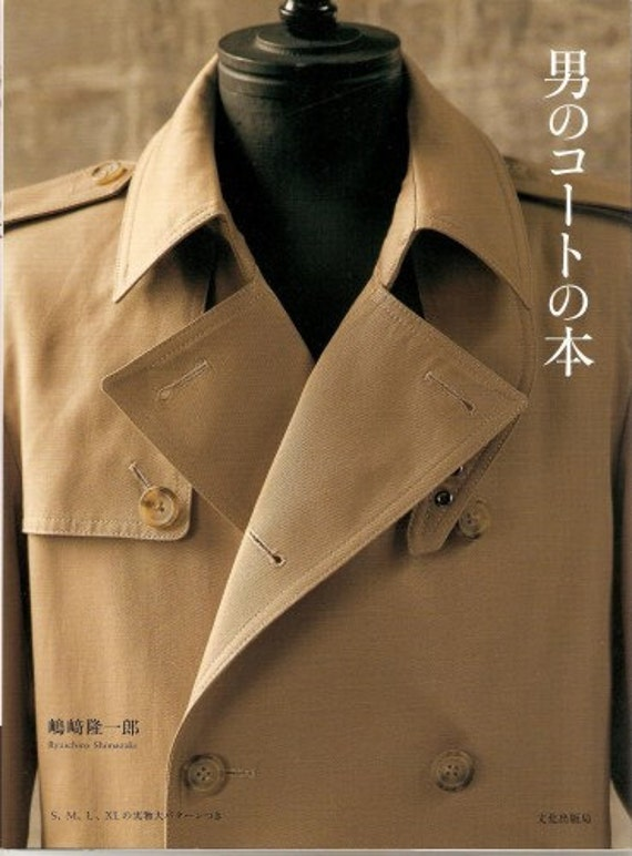 Mens Coat Making Japanese Sewing Craft Book