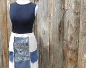 Eco-Friendly, Upcycled Skirt/ Size Large. READY TO SHIP.