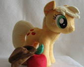 My Little Pony - Applejack - Made to Order Handmade Plush (Minky fabric)