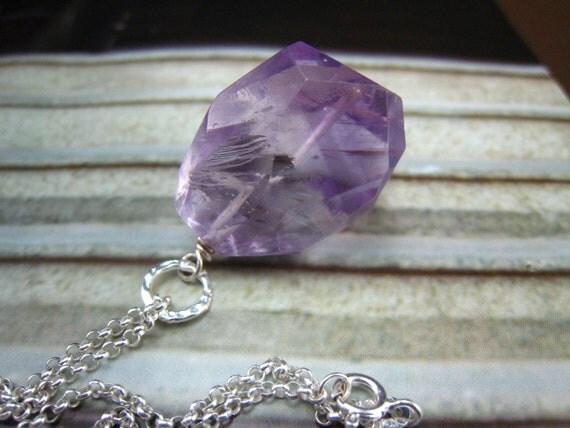 light amethyst necklace