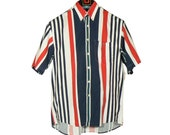 Lacoste Striped Short Sleeve Shirt