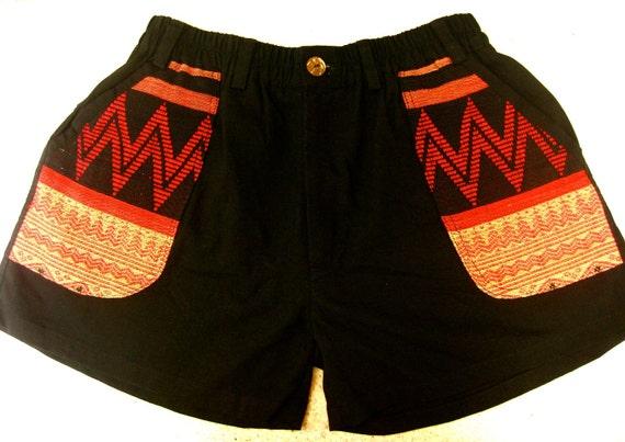 Tribal Summer shorts RESERVED for Bardo