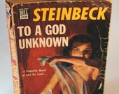 Vintage Book To A God Unknown Steinbeck Dell 358 Paperback