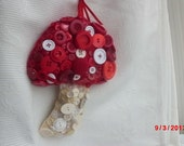 OOAK Button Mushroom every one is unique to you