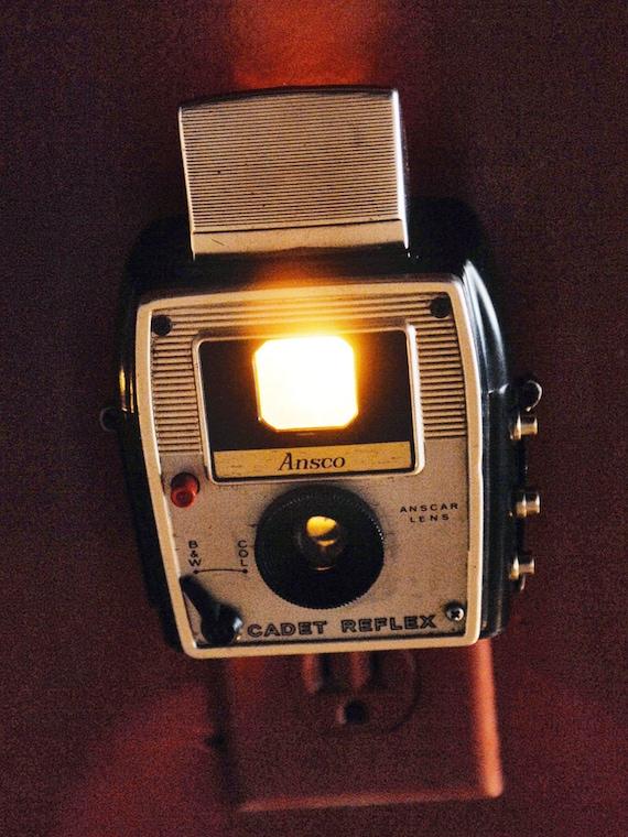 Ansco Cadet Reflex Camera Night Light