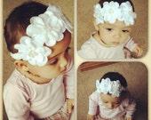 Beautiful Handmade Felt Flower Headbands for Babies, Children & Adults