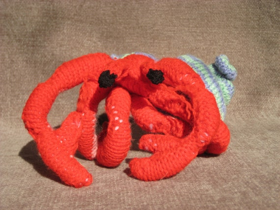 how to make a crab hat