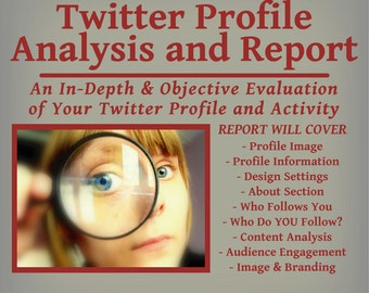 Twitter Profile Analysis and Report -  Engage Your Followers