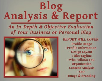 Blog Analysis and Report -  Business or Personal