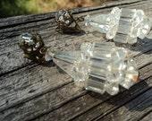 Sparkling Vintage Crystal Chandelier Earrings