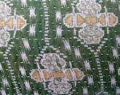 CUSTOM Vintage Kantha Quilt Pillow Cover