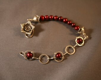 Red Red Rose Bracelet