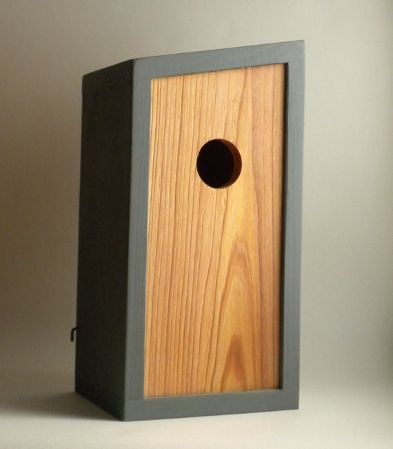 Birdhouse, Modern Minimalist- The Obtuse Birdhouse