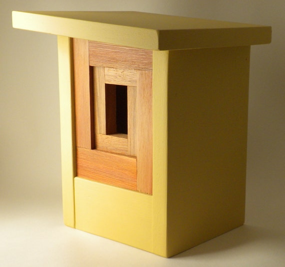 Craftsman Birdhouse, Modern- The Camera Shutter