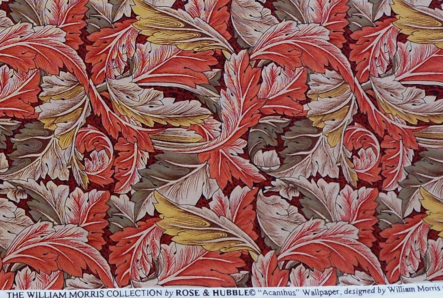 The William Morris Collection 1 Yard Of Acanthus