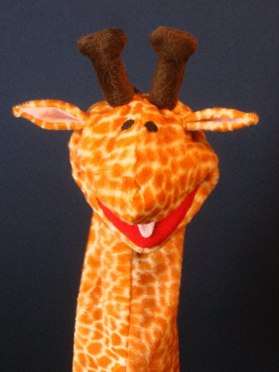 Creatures Inspired - Anthony the Giraffe Hand Puppet