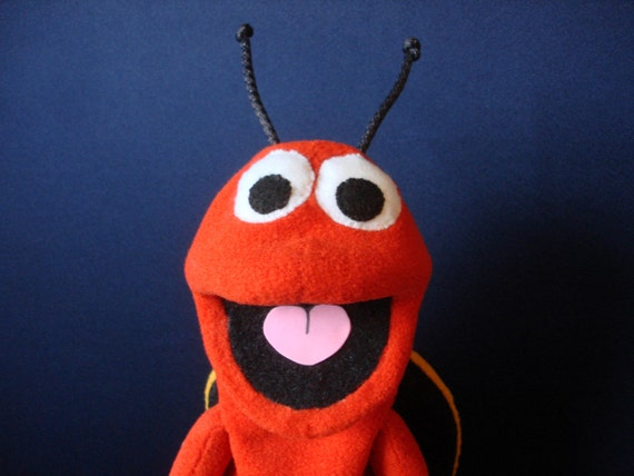 Creatures Inspired - Loveable Bug Hand Puppet