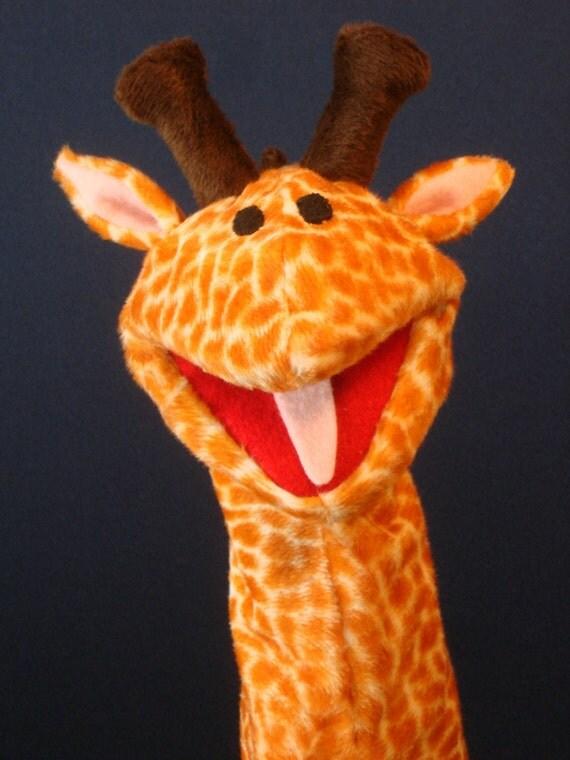 Creatures Inspired - Ella the Giraffe Hand Puppet