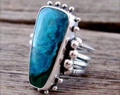 Dreamer in Sterling and Chrysocolla