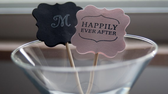 Drink Stirrers-perfect for weddings, engagement or an anniversary