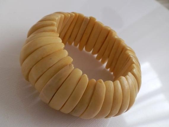 Bone tribal bracelet