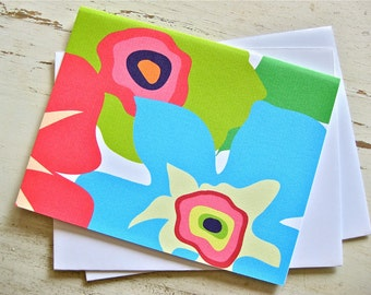 Citrus Burst Blank Notecards - 1 Design - Set of 8 - Personalization Available